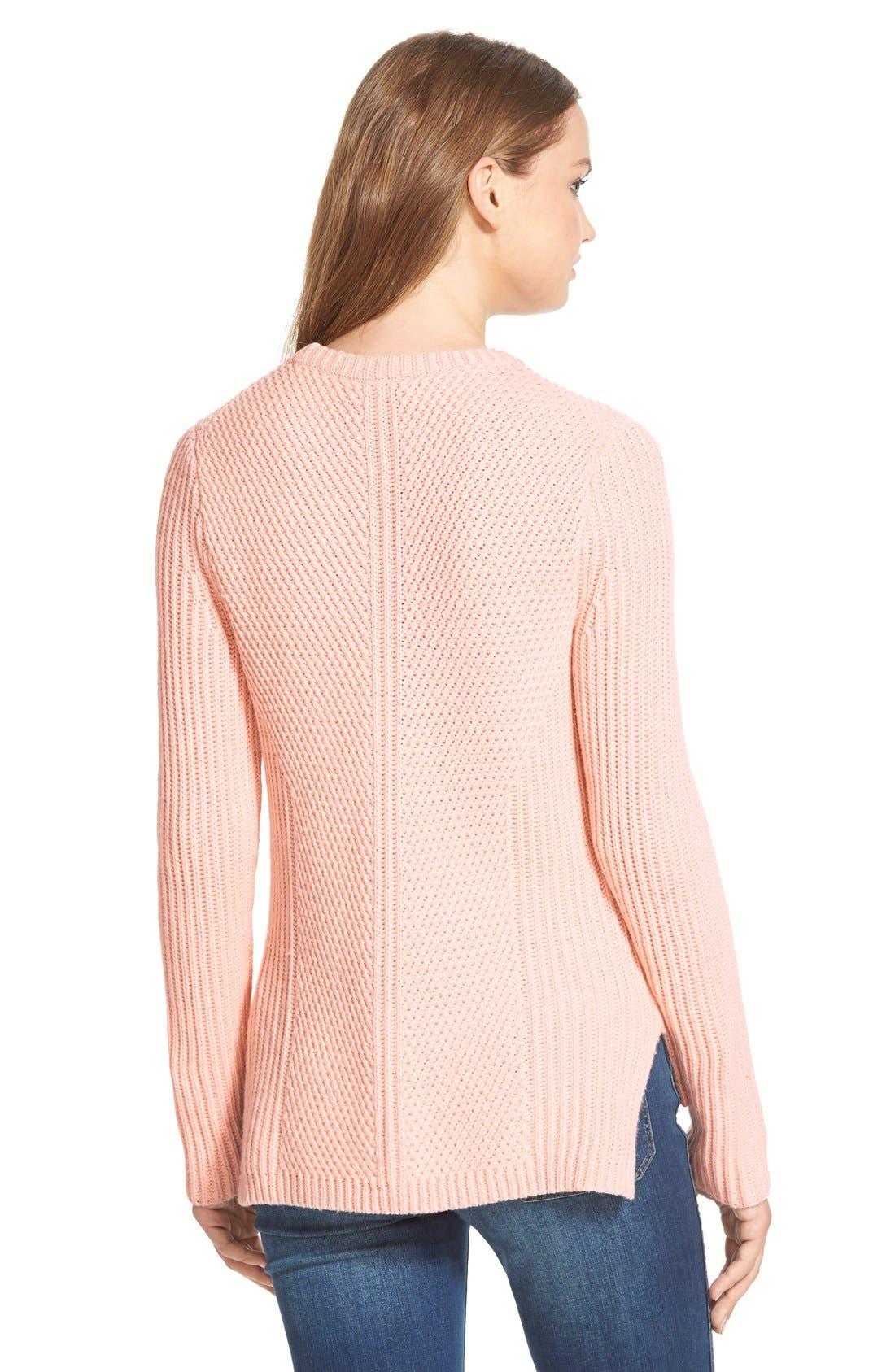 Alternate Image 2  - Madewell 'Holcomb' Texture Sweater