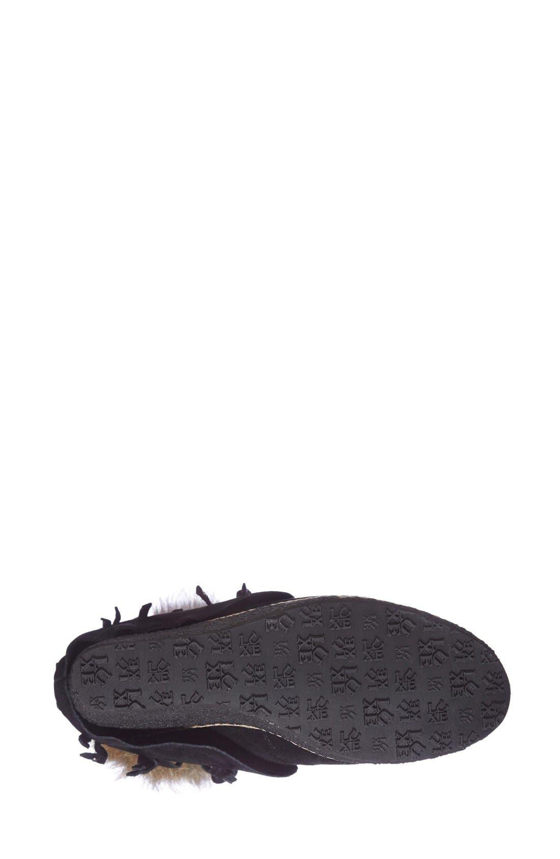Alternate Image 4  - Australia Luxe Collective 'Mantra' Genuine Shearling & Genuine Rabbit Fur Boot (Women)