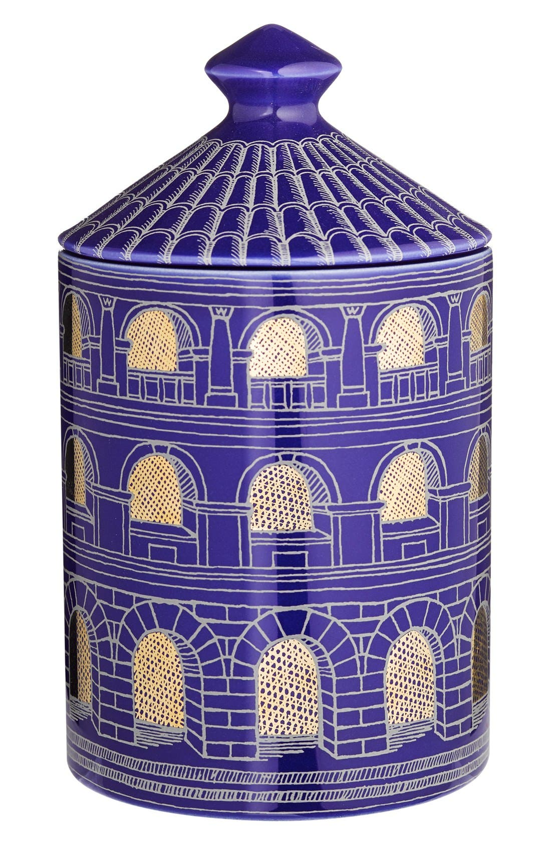 Fornasetti 'Architettura Negativo - Otto' Lidded Candle