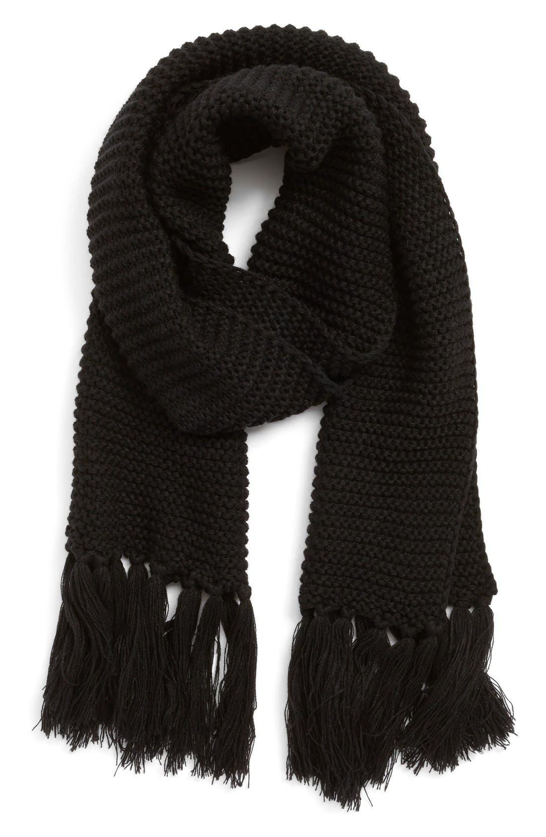 Alternate Image 1 Selected - Modena Chunky Knit Scarf