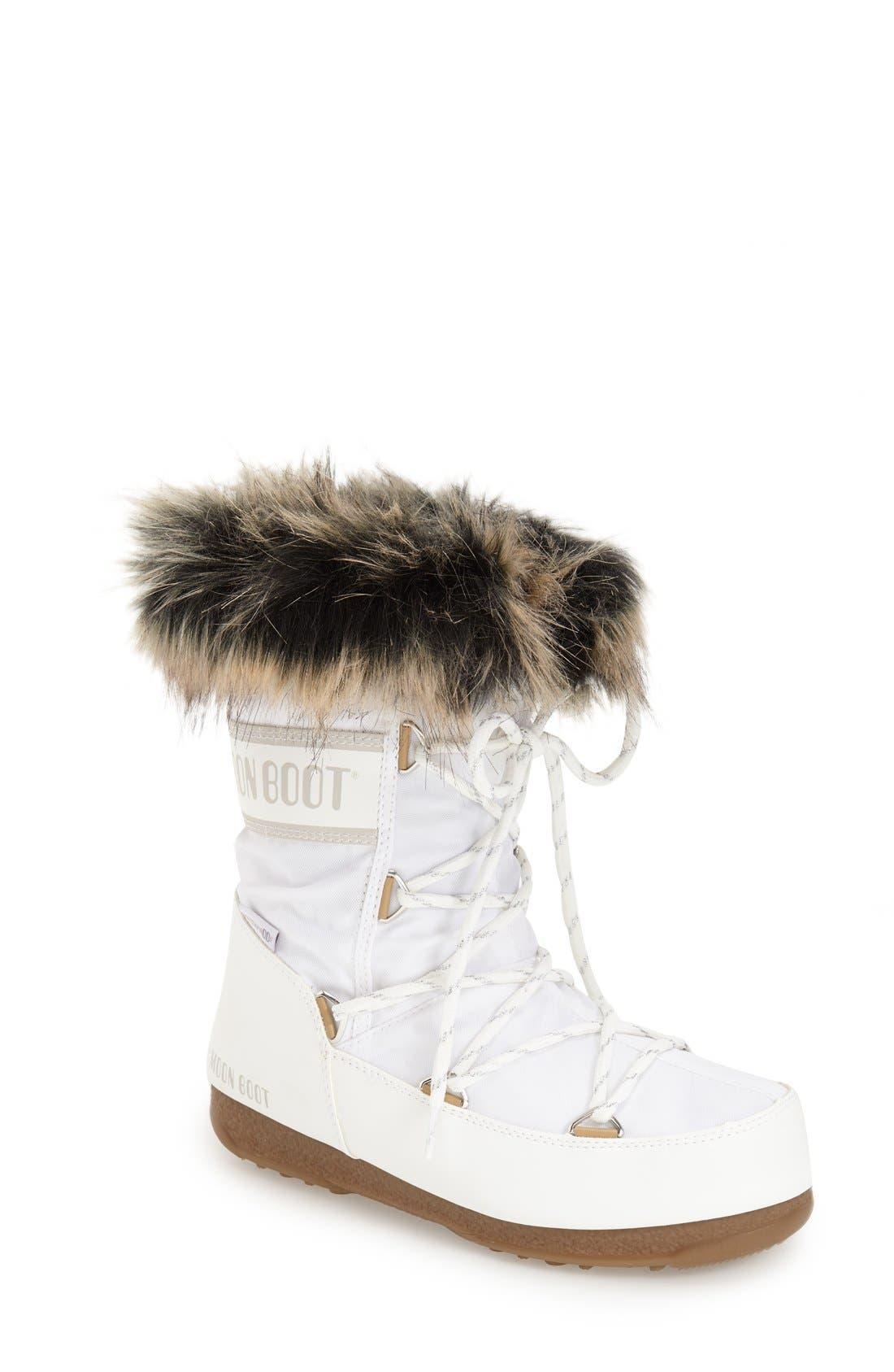 Alternate Image 1 Selected - Tecnica® 'Monaco' Waterproof Insulated Moon Boot® (Women)