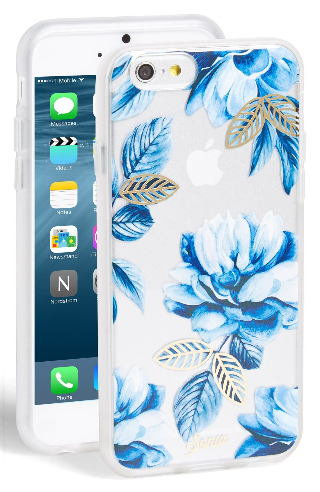 Alternate Image 1 Selected - Sonix 'Indigo Floral' iPhone 6 & 6s Case