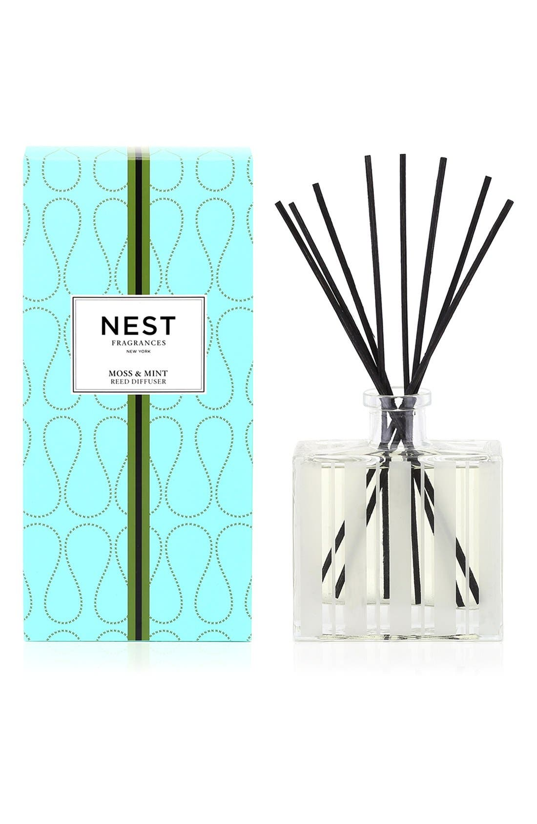 Alternate Image 1 Selected - NEST Fragrances 'Moss & Mint' Reed Diffuser