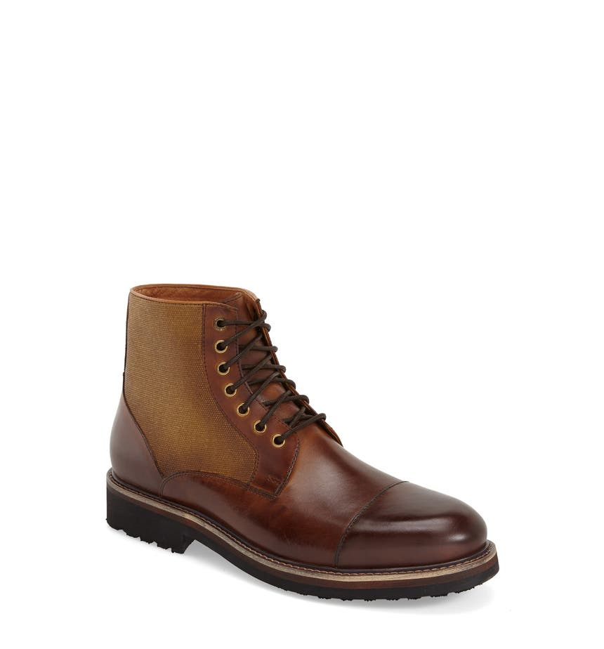 Zanzara 'Northstar' Cap Toe Boot (Men) | Nordstrom
