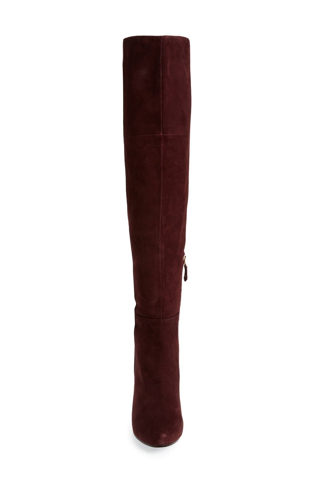 Alternate Image 3  - Topshop 'Count' Over the Knee Boot (Women)