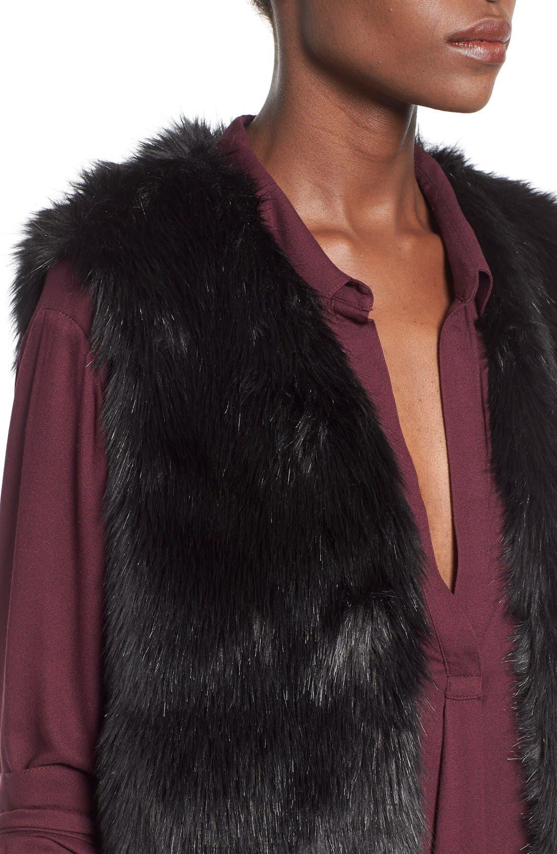 Alternate Image 4  - WAYF Faux Fur Vest