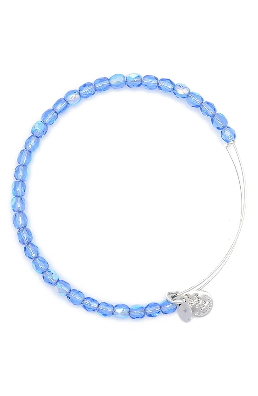 Alternate Image 1 Selected - Alex and Ani 'Rock Candy' Expandable Wire Bangle