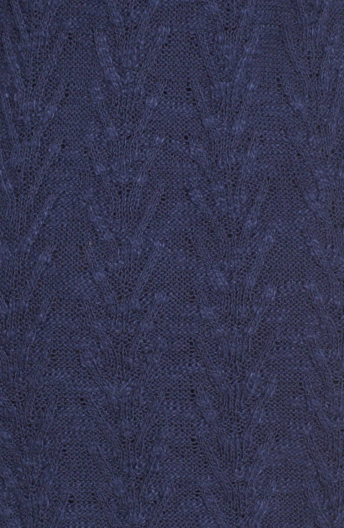 Alternate Image 5  - LAmade V-Neck Cable Knit Sweater Dress