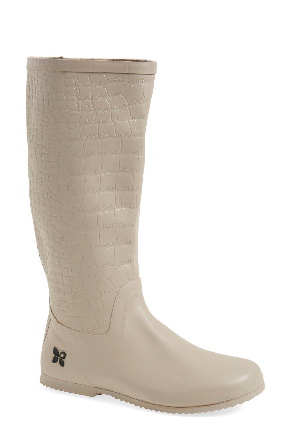Main Image - Butterfly Twists 'Carlisle' Foldable Rain Boot (Women)