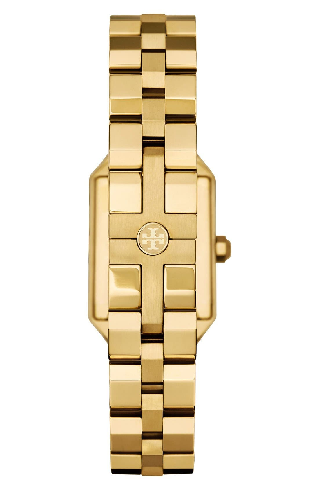Alternate Image 2  - Tory Burch 'Dalloway' Bracelet Watch, 23mm x 35mm