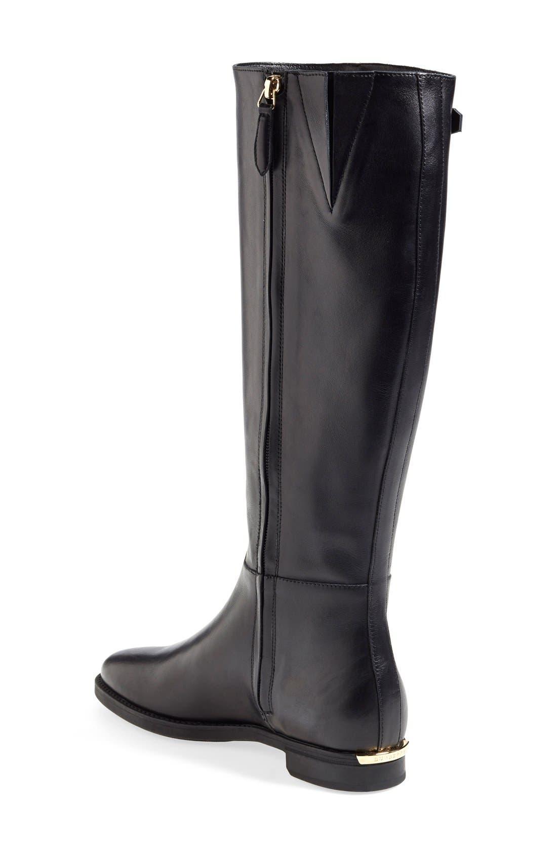 Alternate Image 2  - Burberry 'Mapledene' Riding Boot (Women)