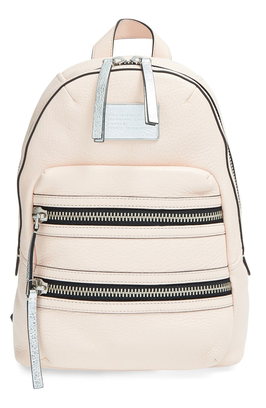 Main Image - MARC BY MARC JACOBS 'Domo Biker' Leather Backpack