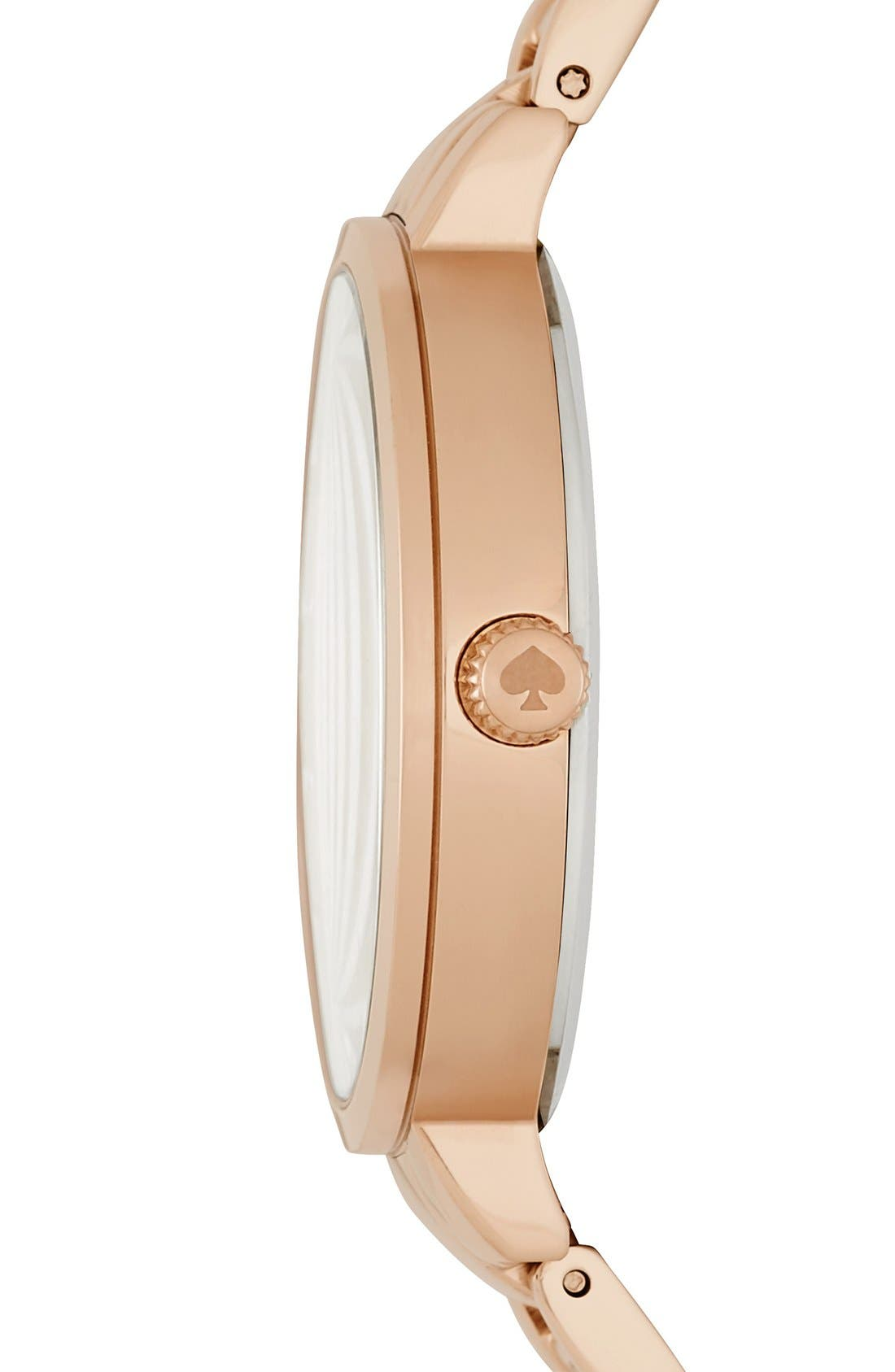 Alternate Image 3  - kate spade new york bracelet watch, 34mm