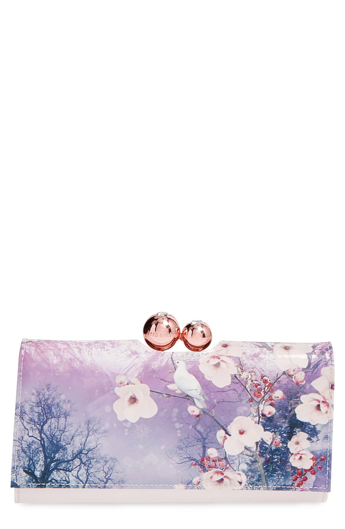 Alternate Image 1 Selected - Ted Baker London 'Misty Mountains' Matinee Wallet