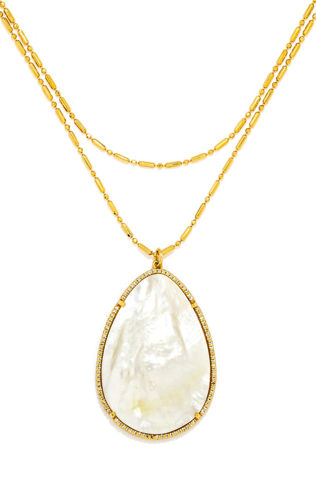 Alternate Image 3  - BaubleBar 'Seashell' Pendant Necklace