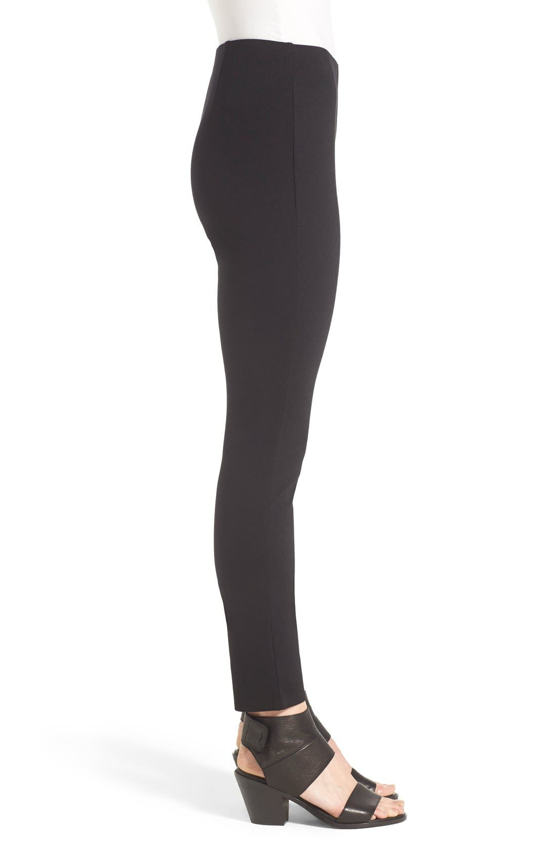 Alternate Image 3  - Eileen Fisher Slim Ponte Knit Pants (Regular & Petite)