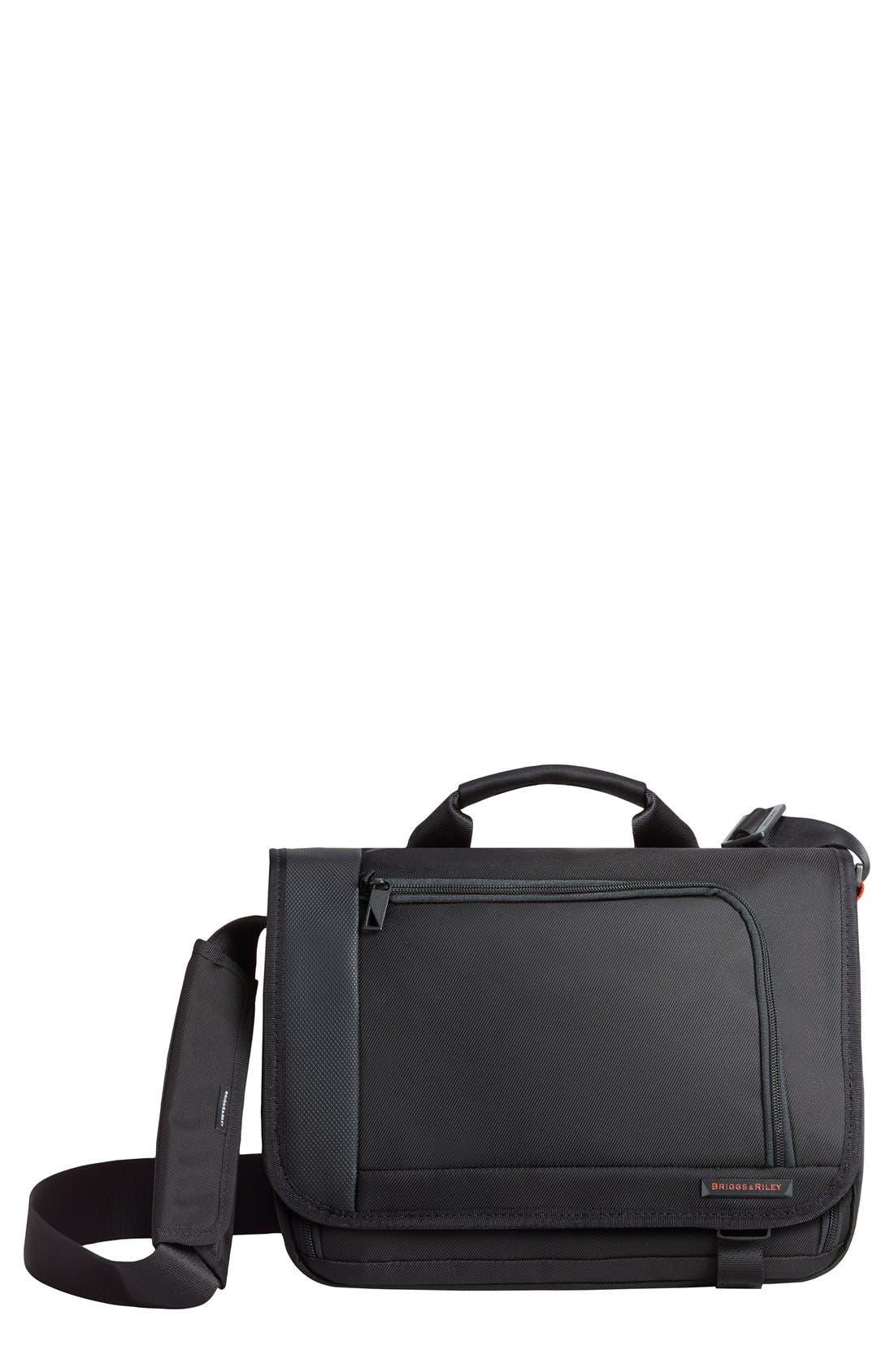 BRIGGS & RILEY 'Verb - Instant' Messenger Bag