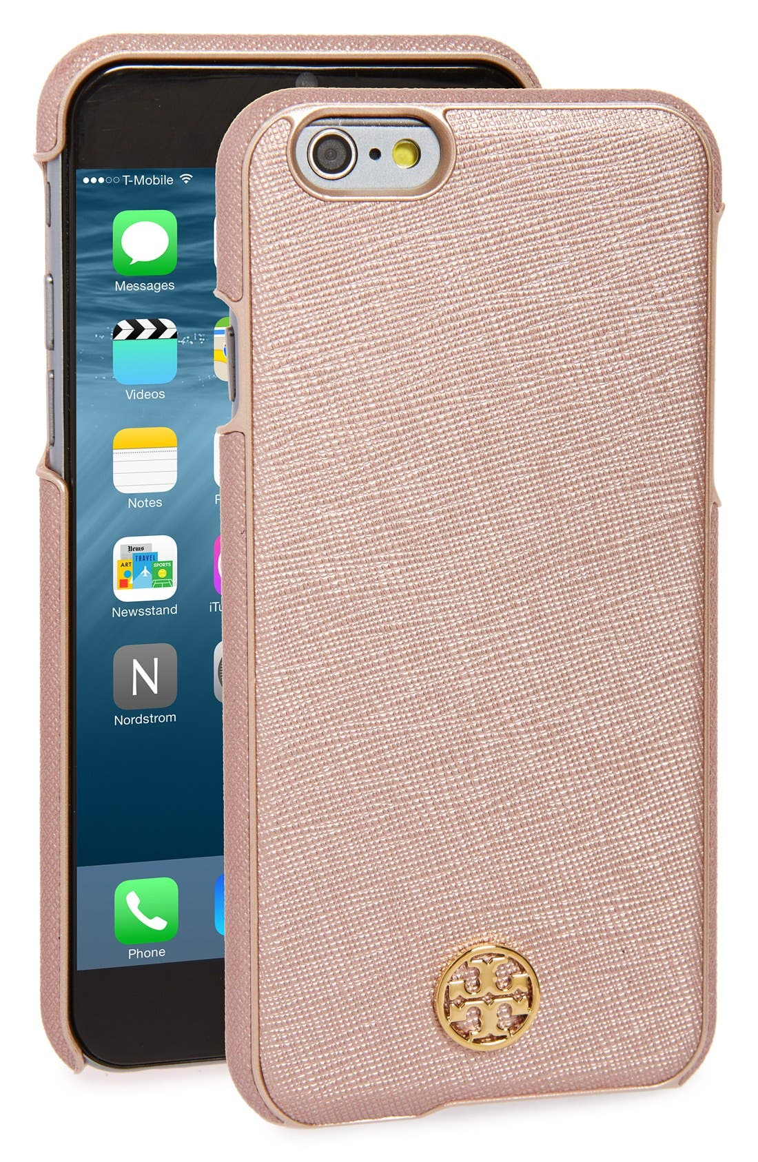 Main Image - Tory Burch 'Robinson' iPhone 6 & 6s Case
