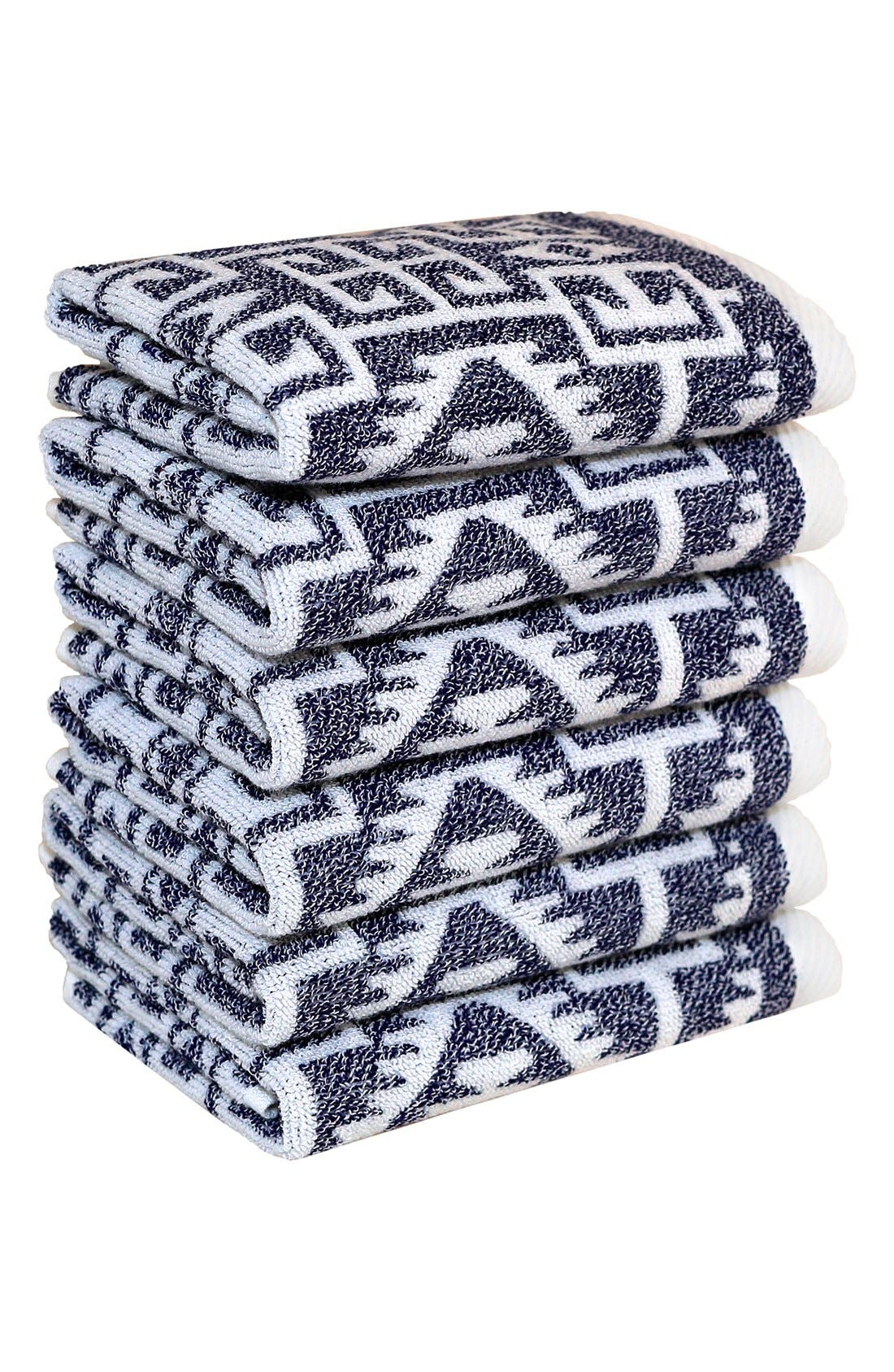 LINUM HOME TEXTILES Linum 'Kula' Turkish Cotton Washcloths