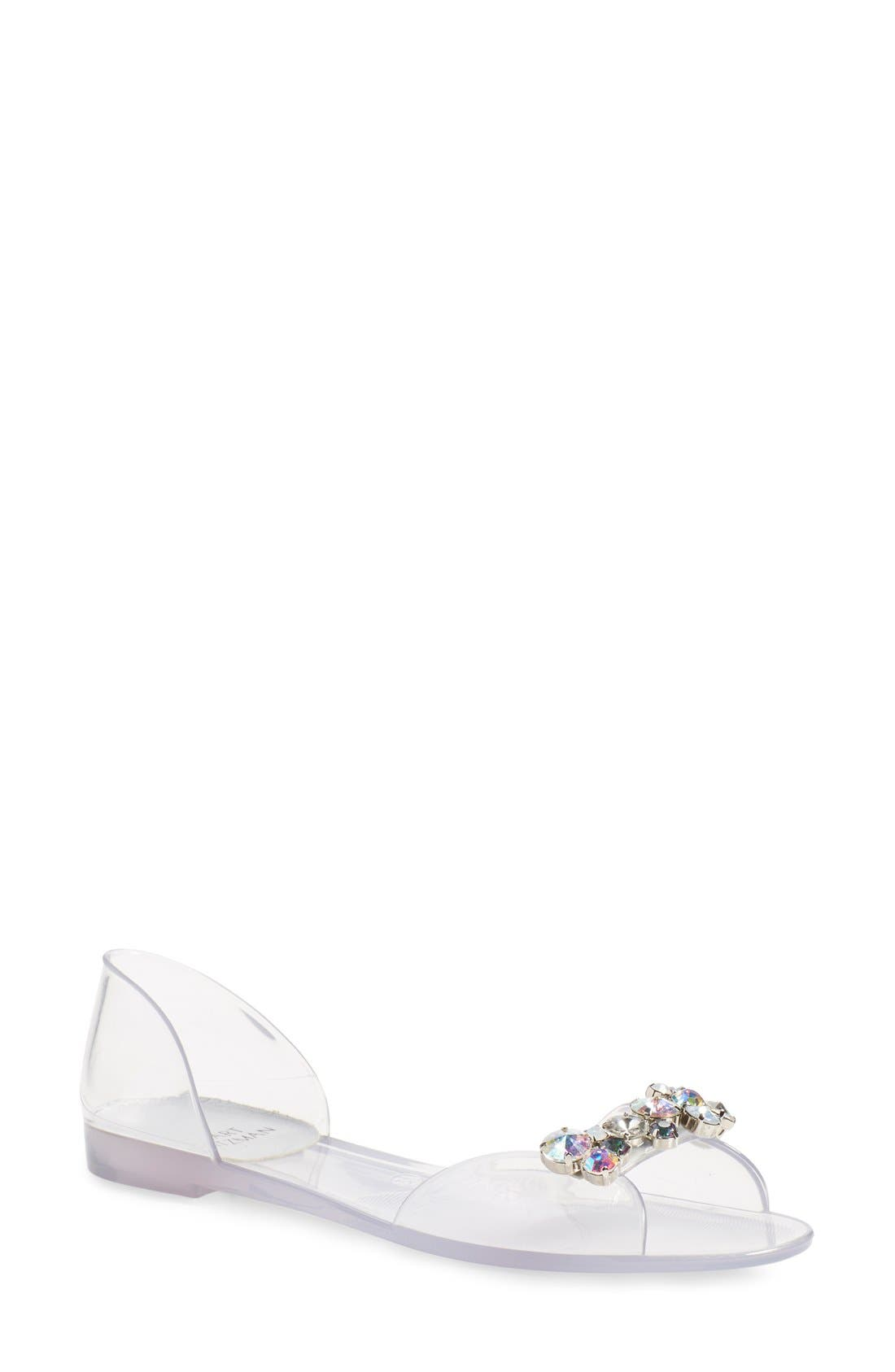 Alternate Image 1 Selected - Stuart Weitzman 'Jubilee' d'Orsay Sandal (Women)