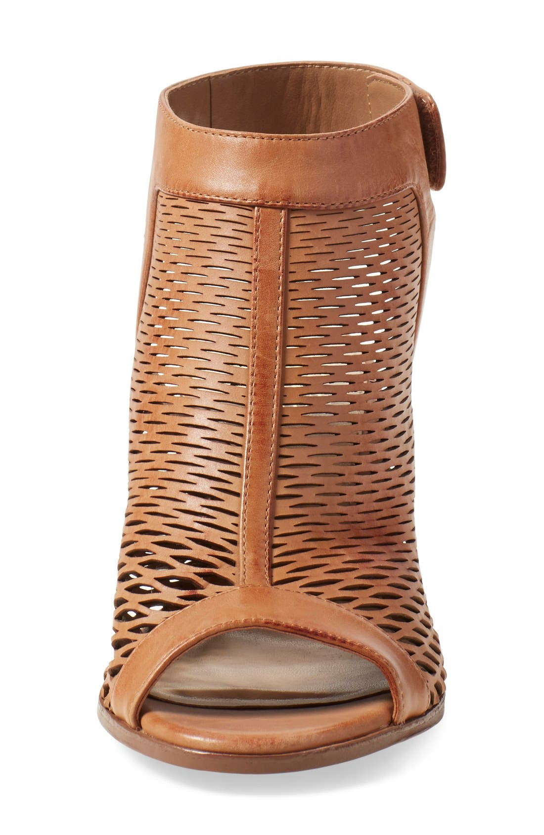 Alternate Image 3  - Vince Camuto 'Lavette' Perforated Peep Toe Bootie (Women) (Nordstrom Exclusive)