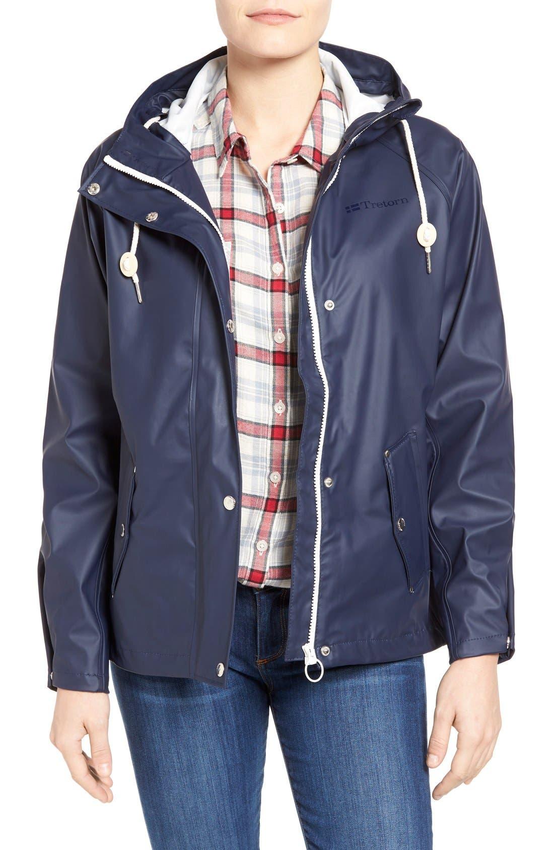 Main Image - Tretorn 'Tora' Hooded Rain Jacket