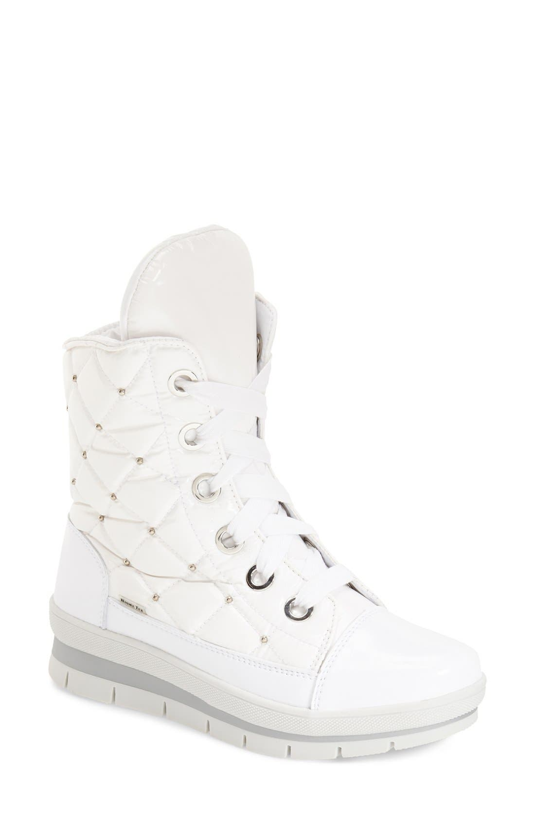 Alternate Image 1 Selected - JOG DOG Waterproof Quilted Lace-Up Boot (Women)