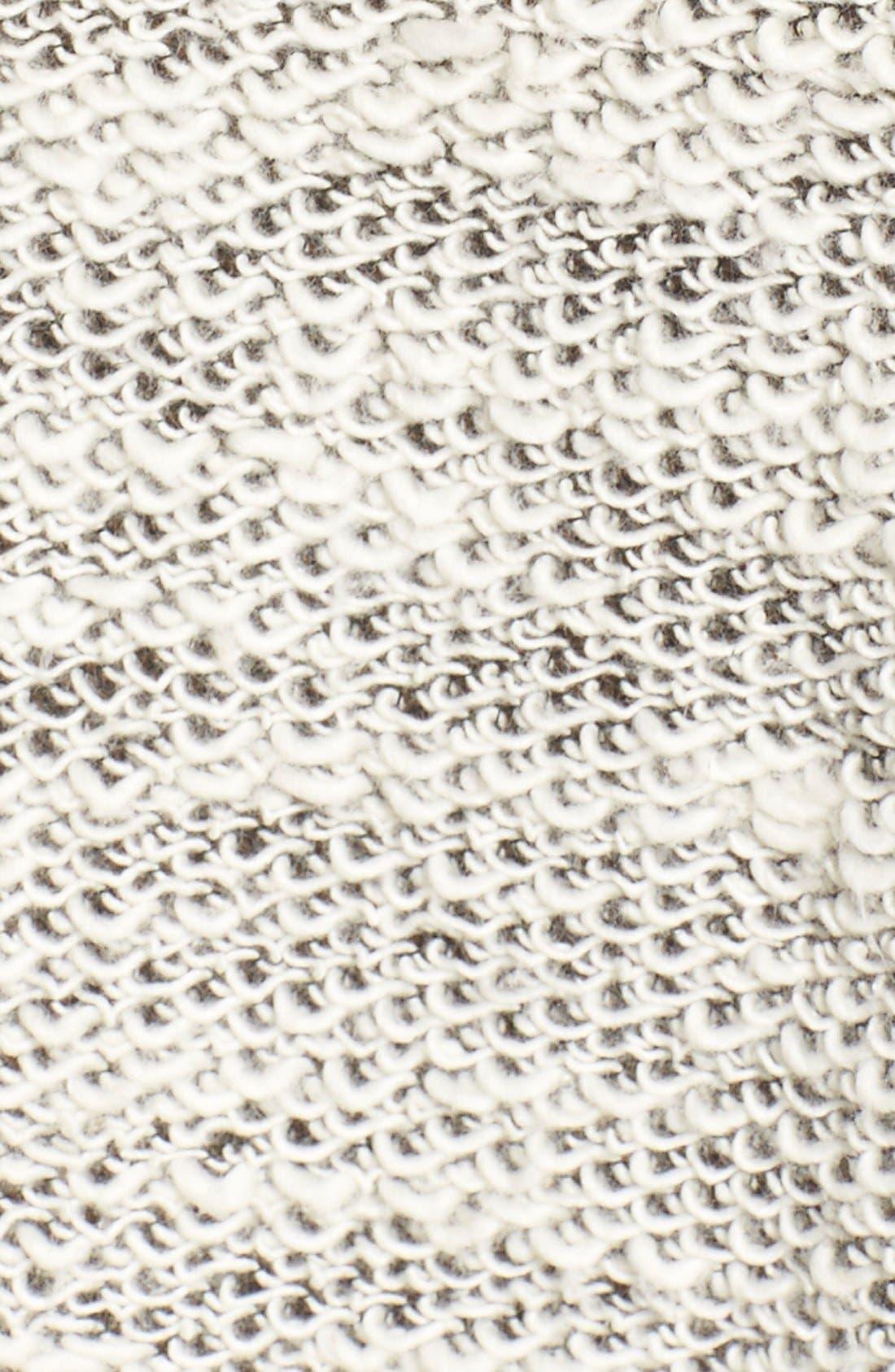 Alternate Image 5  - Project Social T 'Elements' Graphic Bouclé Pullover