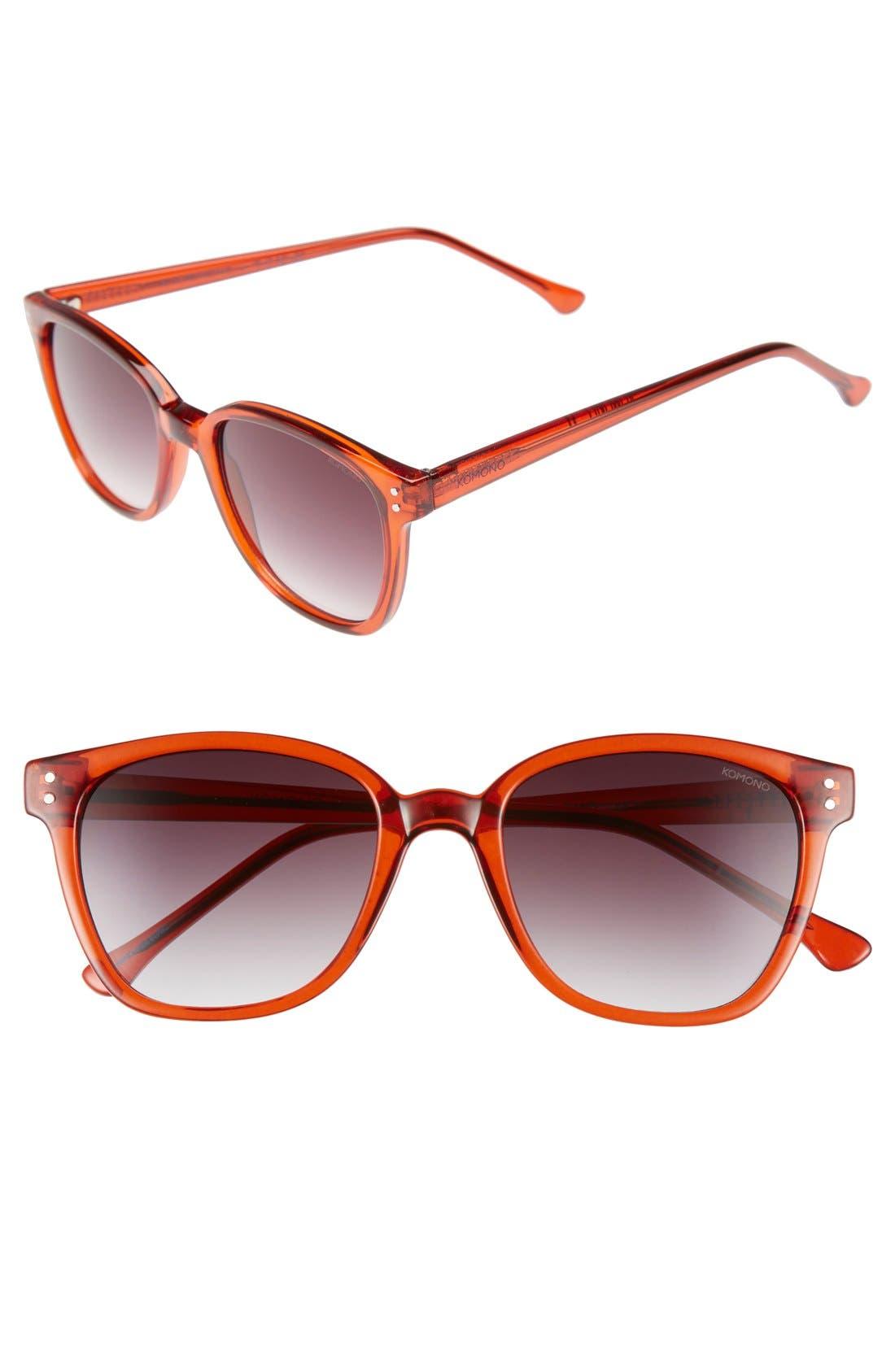 Main Image - Komono 'Renee' 50mm Sunglasses