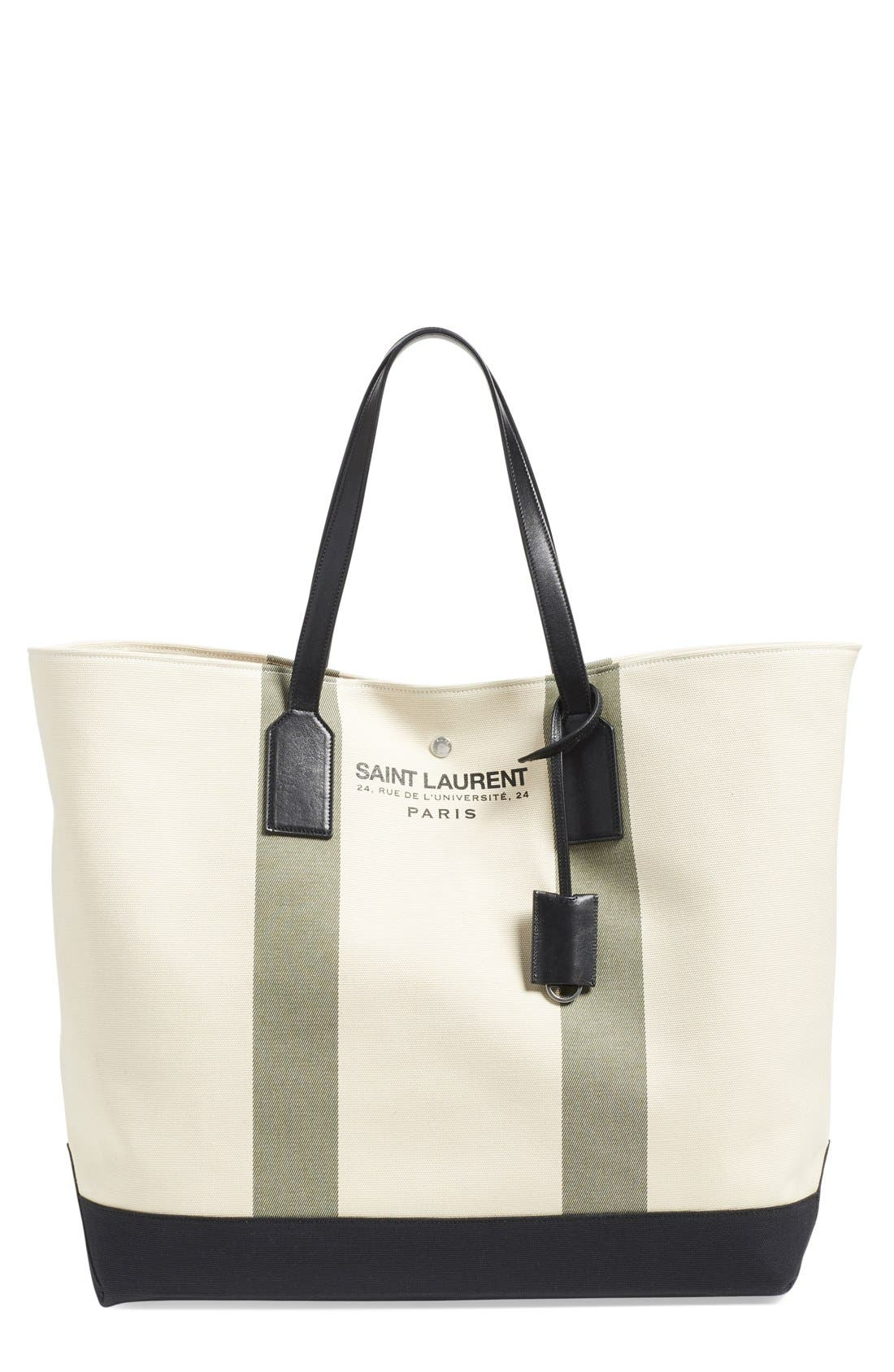 Alternate Image 1 Selected - Saint Laurent 'Beach' Canvas Tote