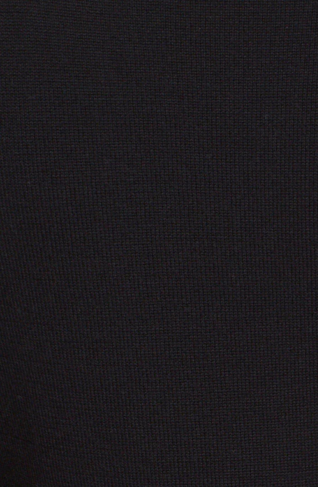 Alternate Image 5  - Oscar de la Renta Embellished Floral Lace Inset Wool Sweater