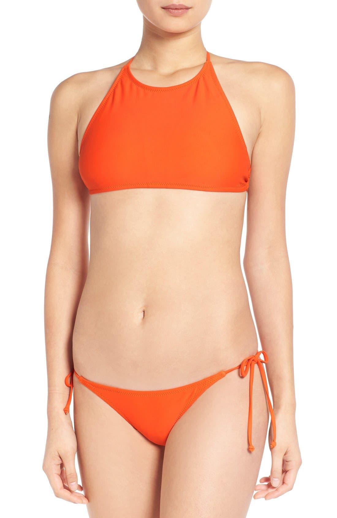 Alternate Image 2  - Volcom 'Simply Solid' Crop Bikini Top
