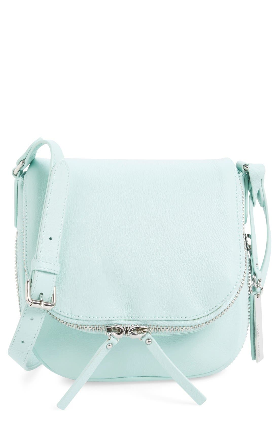 Alternate Image 1 Selected - Vince Camuto 'Baily' Leather Crossbody Bag