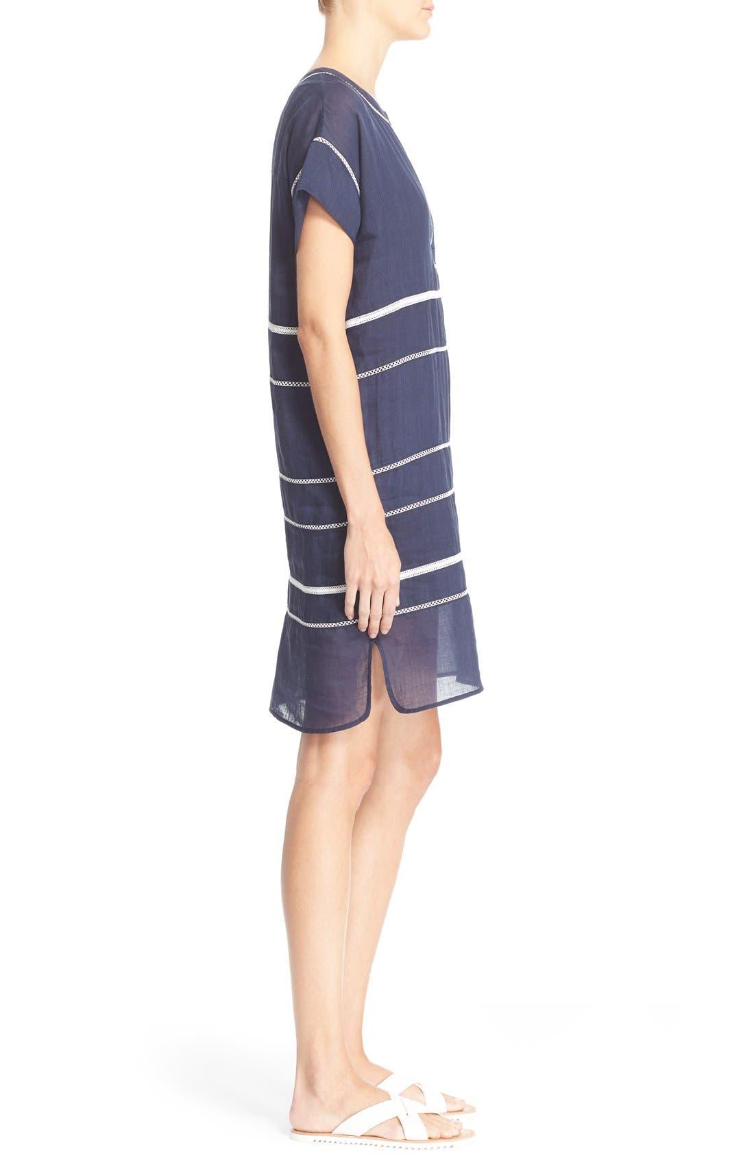 Alternate Image 3  - Vince Lace Inset Popover Dress