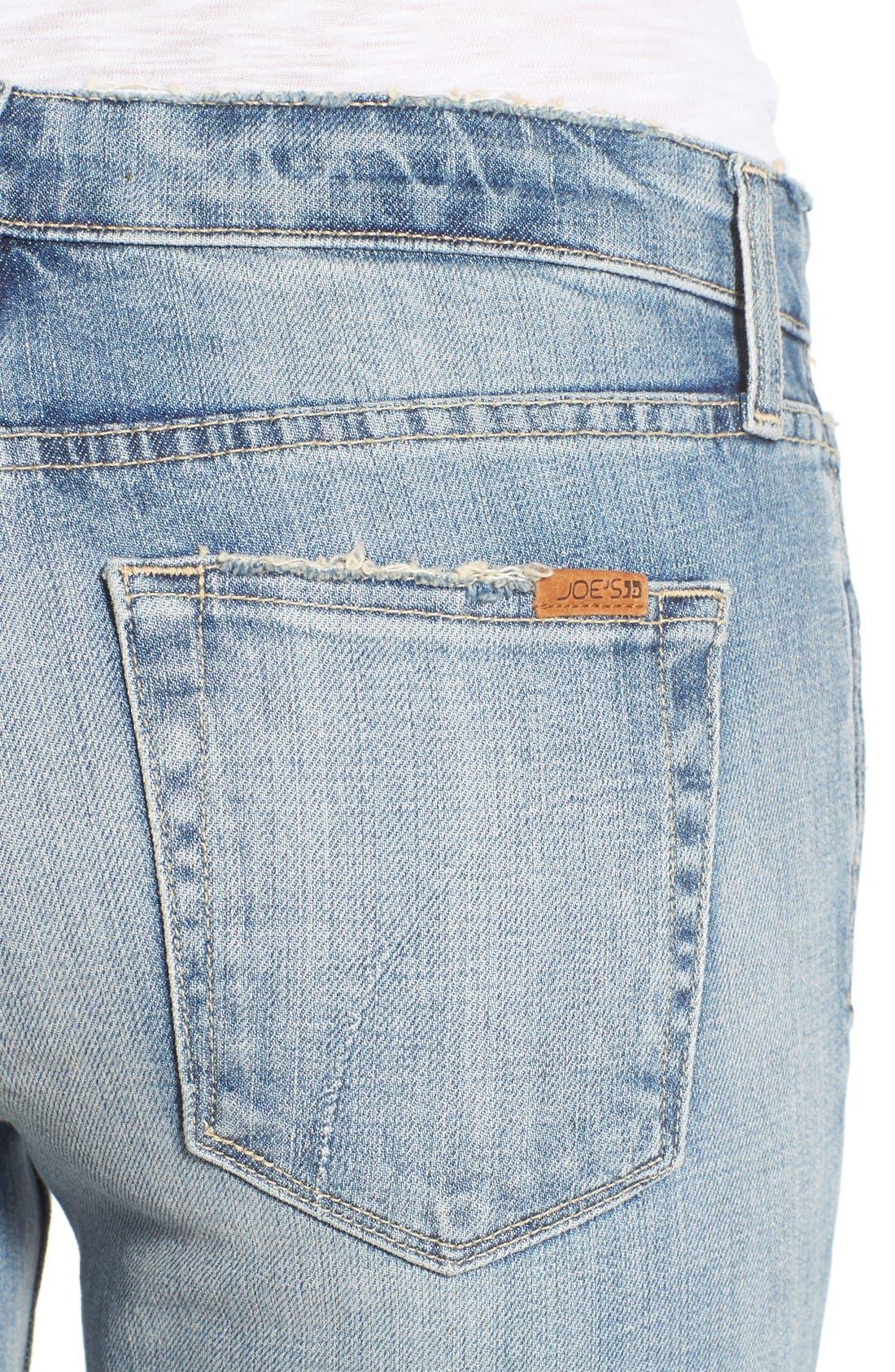 Alternate Image 4  - Joe's 'Collector's - Billie' Ankle Slim Boyfriend Jeans (Rina)