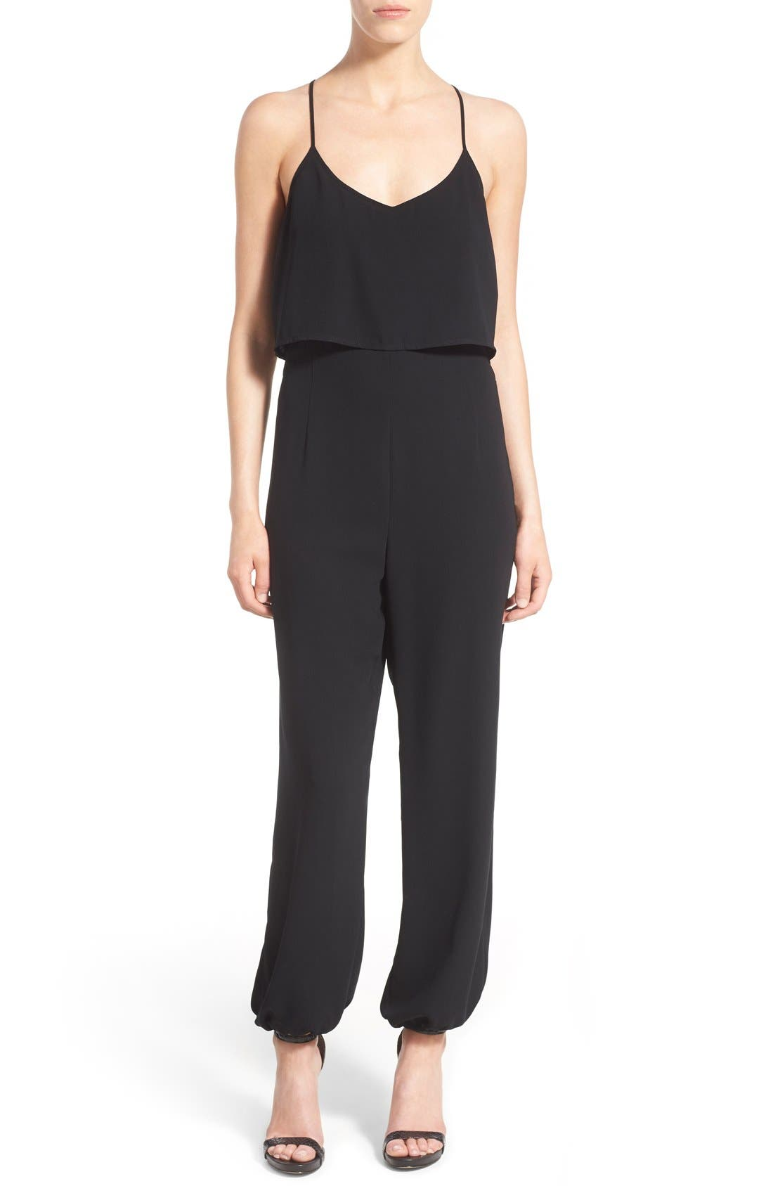 Alternate Image 1 Selected - Leith Cutout Jumpsuit