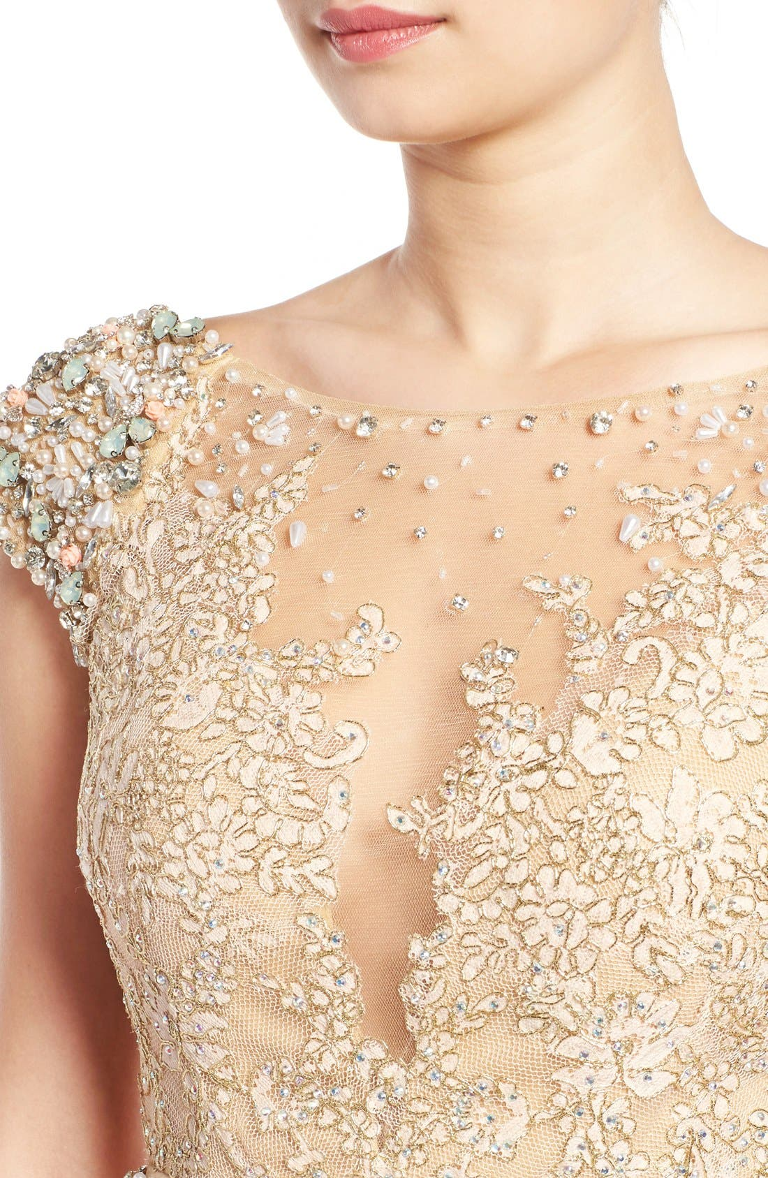 Alternate Image 4  - Mac Duggal 'Gladys' Embellished Gown