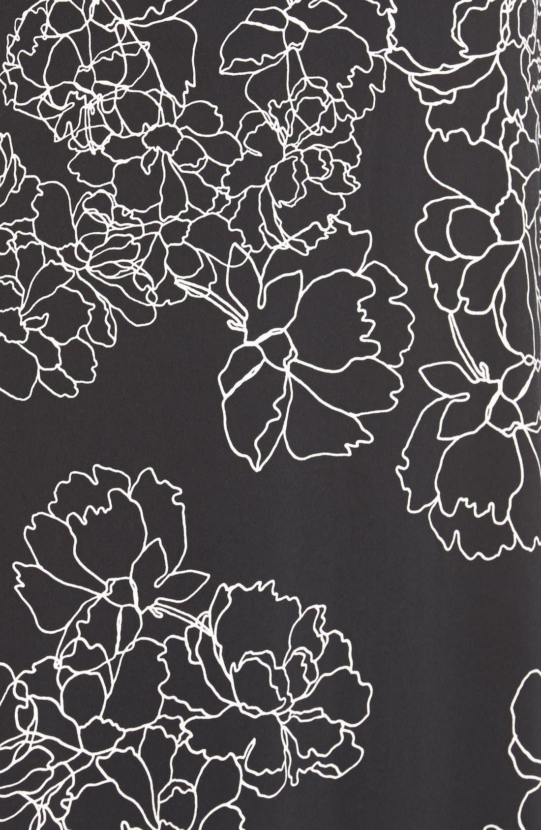 Alternate Image 5  - Vince Camuto Floral Print Jersey Maxi Dress (Regular & Petite)