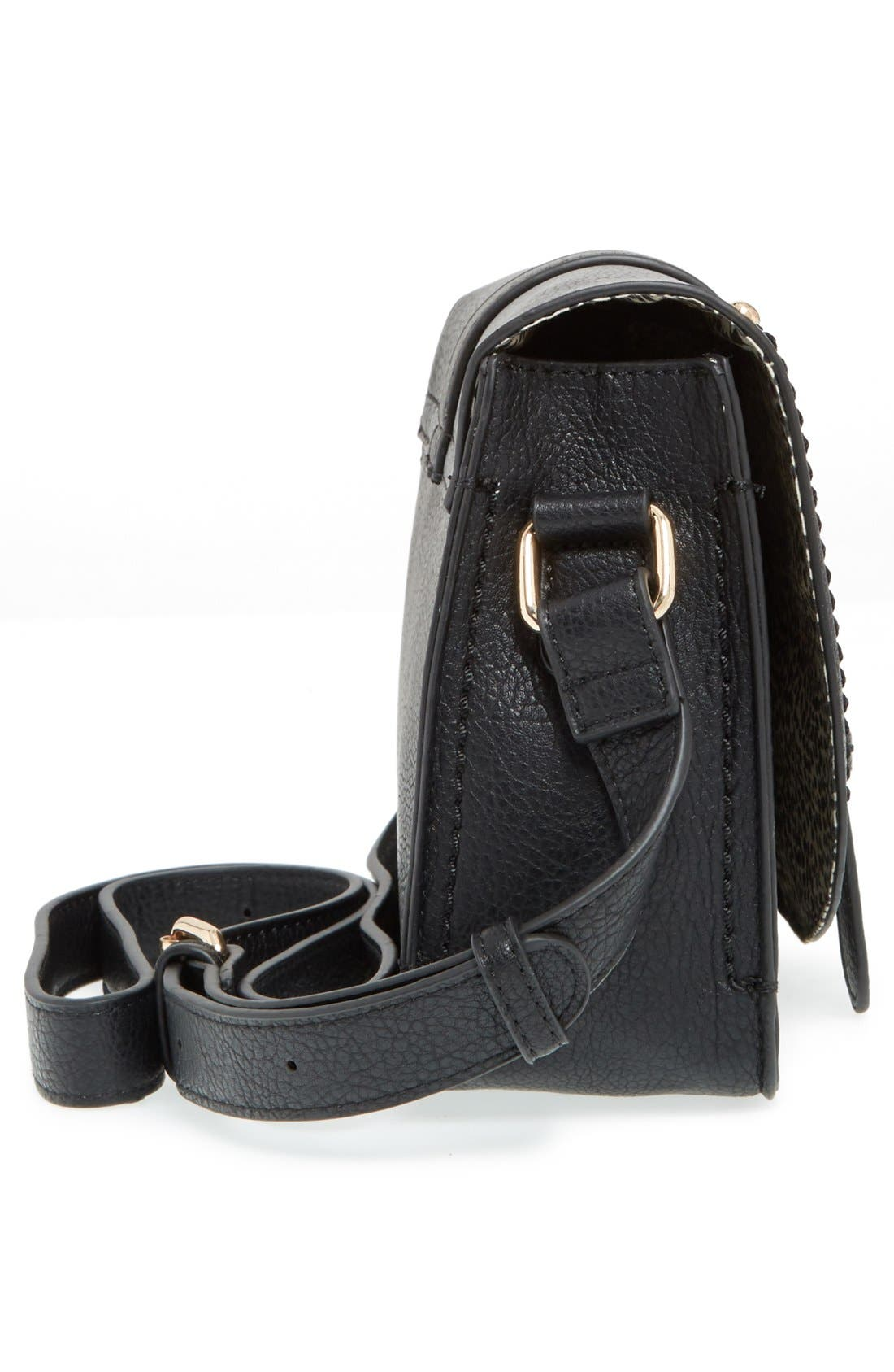 Alternate Image 5  - Sole Society 'Saylah' Structured Faux Leather Crossbody Bag