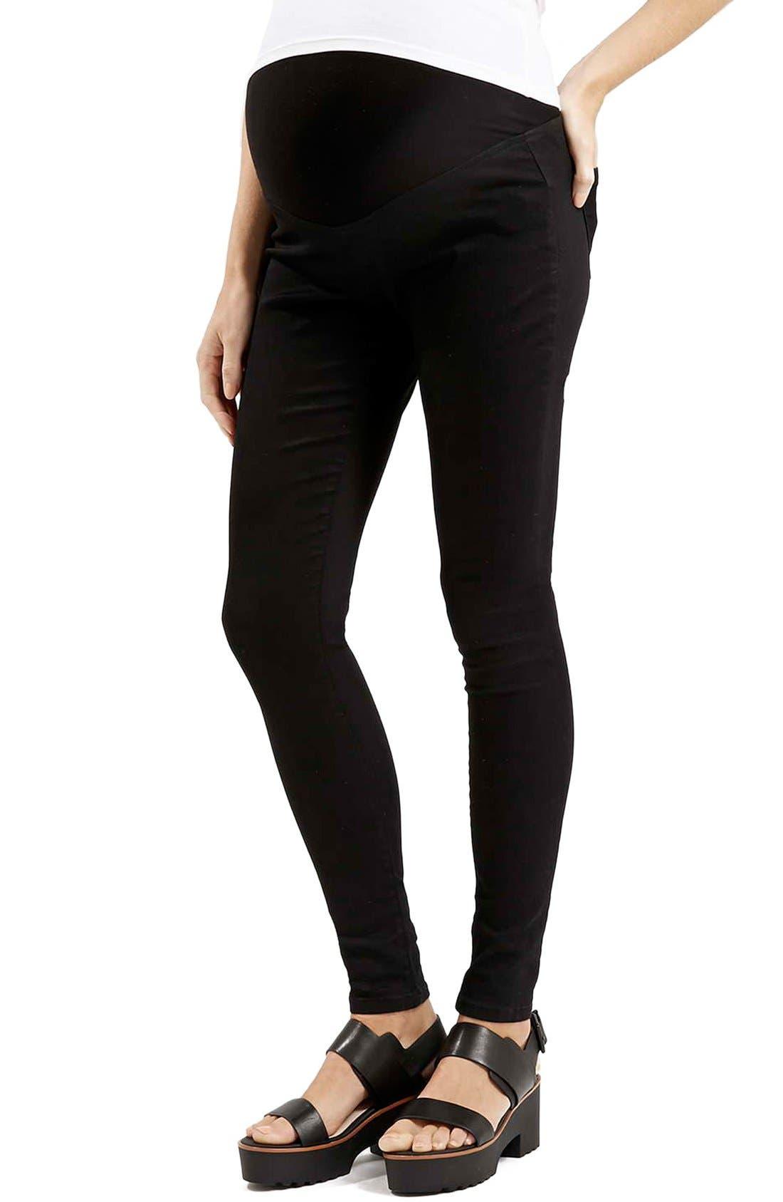 Topshop Moto 'Joni' Skinny Maternity Jeans