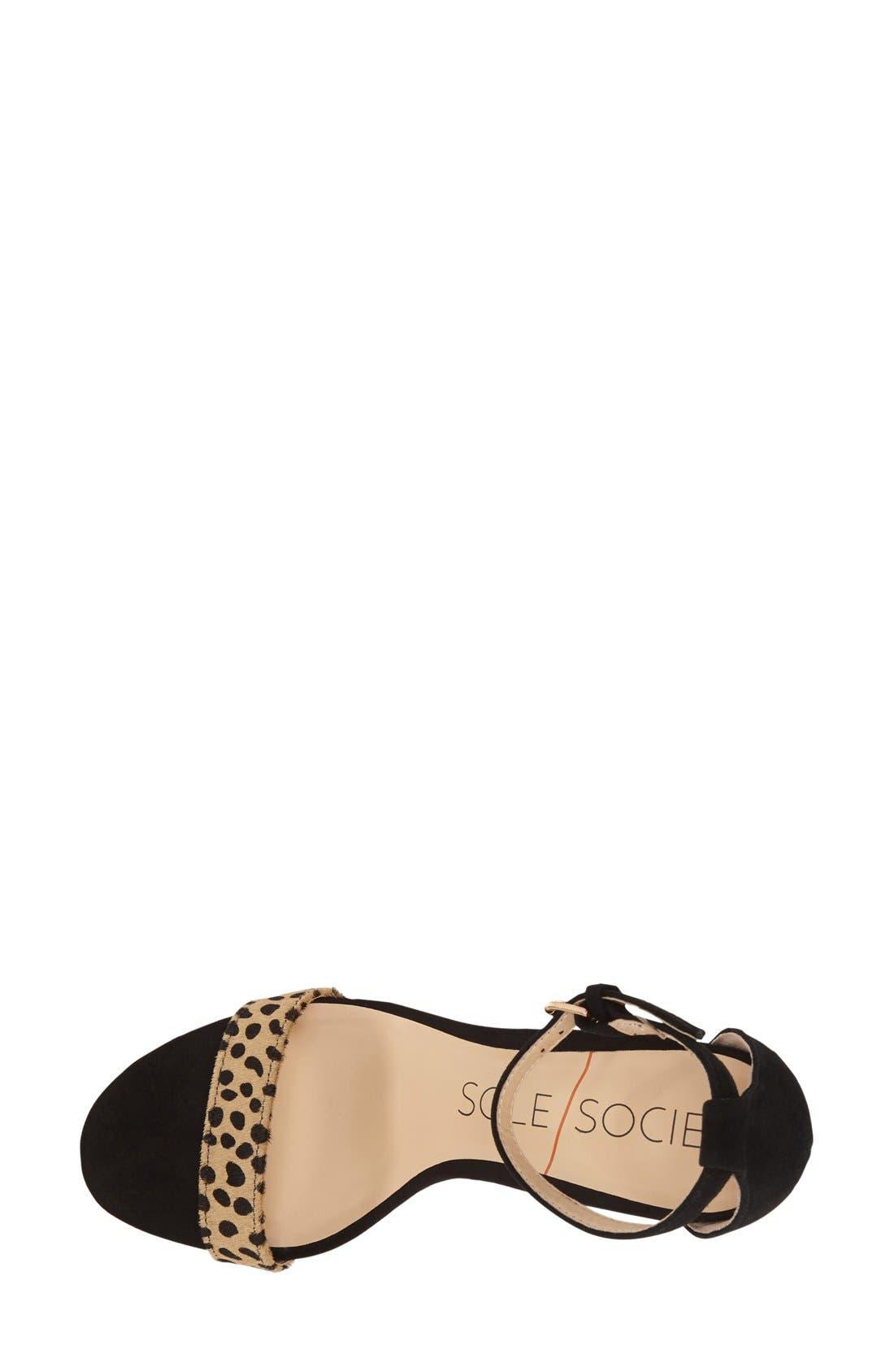 Alternate Image 3  - Sole Society 'Dace' Sandal (Women)