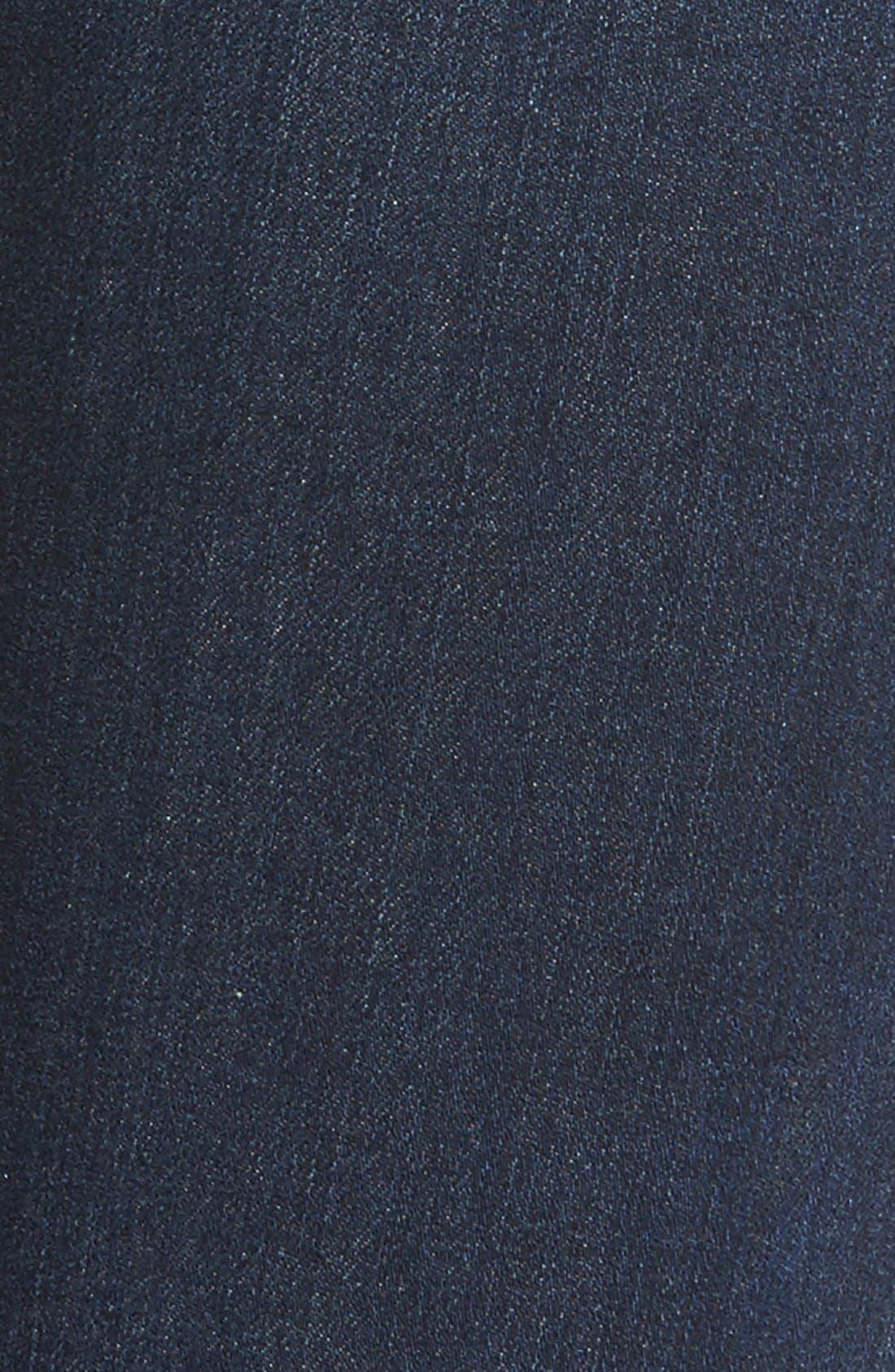 Alternate Image 5  - AG 'The Farrah' High Rise Skinny Jeans (Crater)