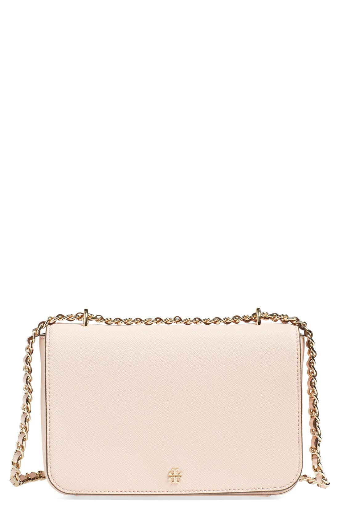 Main Image - Tory Burch 'Robinson' Leather Convertible Shoulder Bag