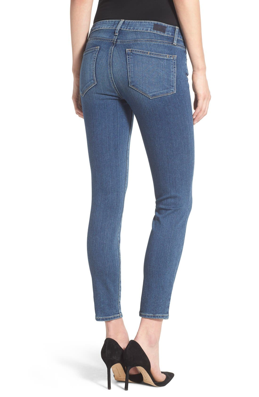 Alternate Image 2  - Paige Denim 'Transcend - Verdugo' Crop Jeans (Nadeen)