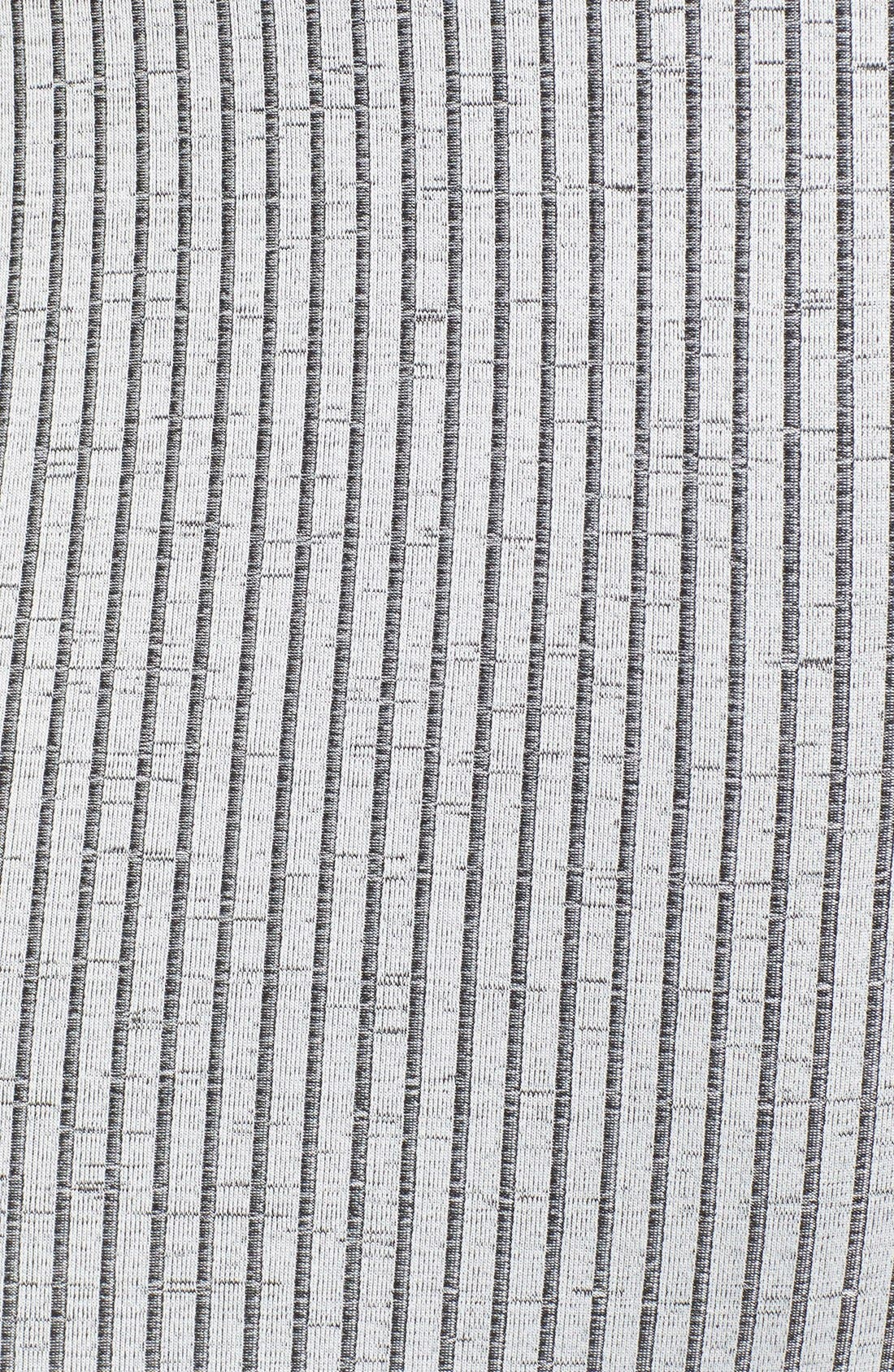 Alternate Image 5  - Missguided Funnel Neck Cutout Midi Dress