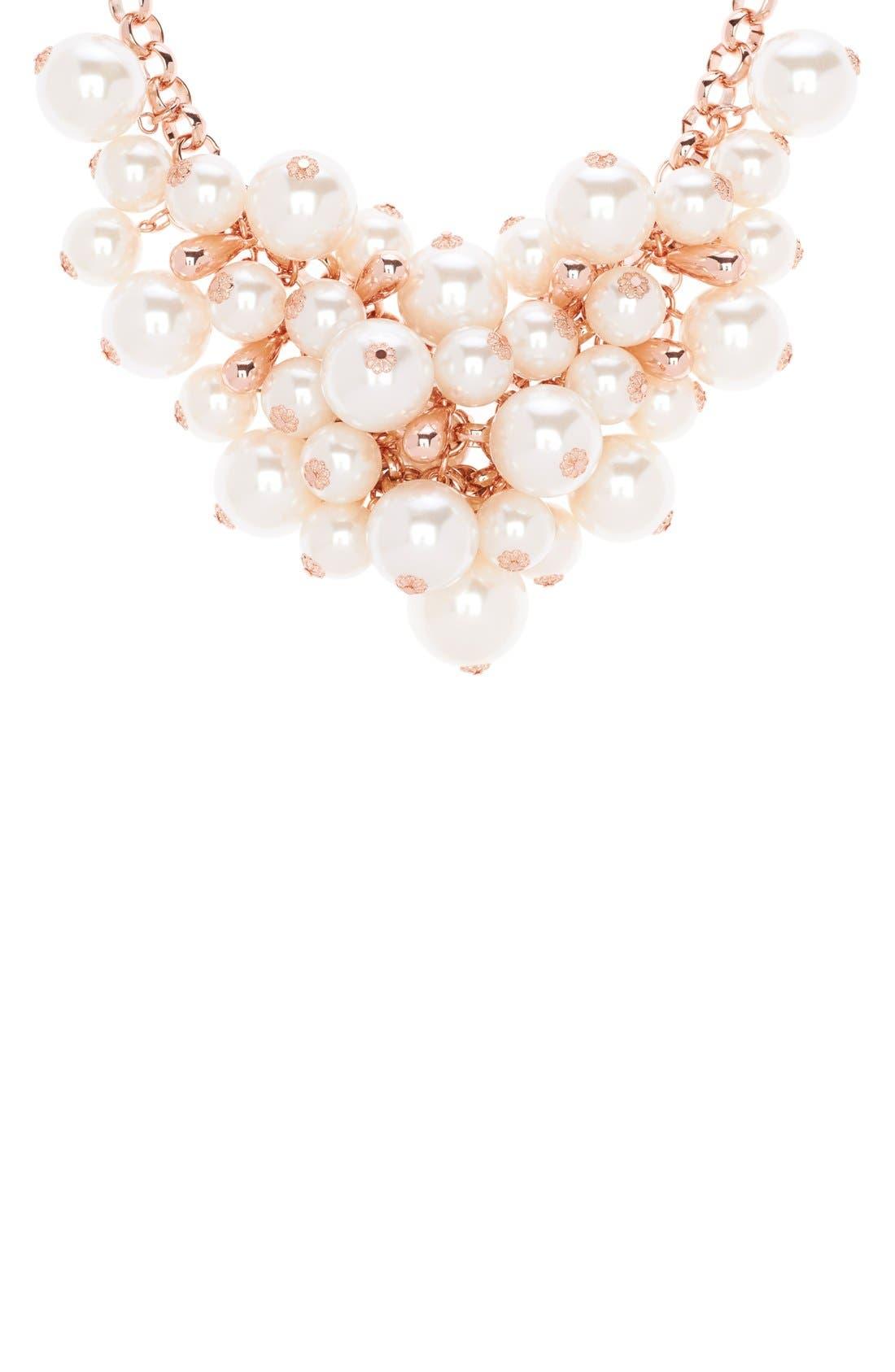 Alternate Image 2  - Ted Baker London Cluster Necklace