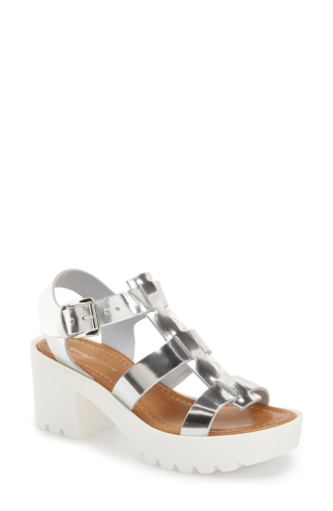Alternate Image 1 Selected - Charles David 'Bella' Platform Sandal (Women)