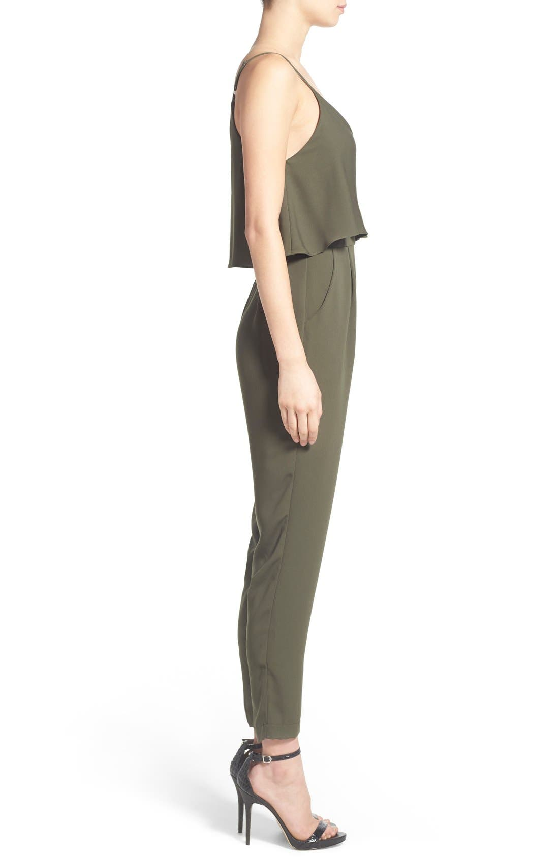 Alternate Image 4  - ASTR Popover Bodice Crop Jumpsuit