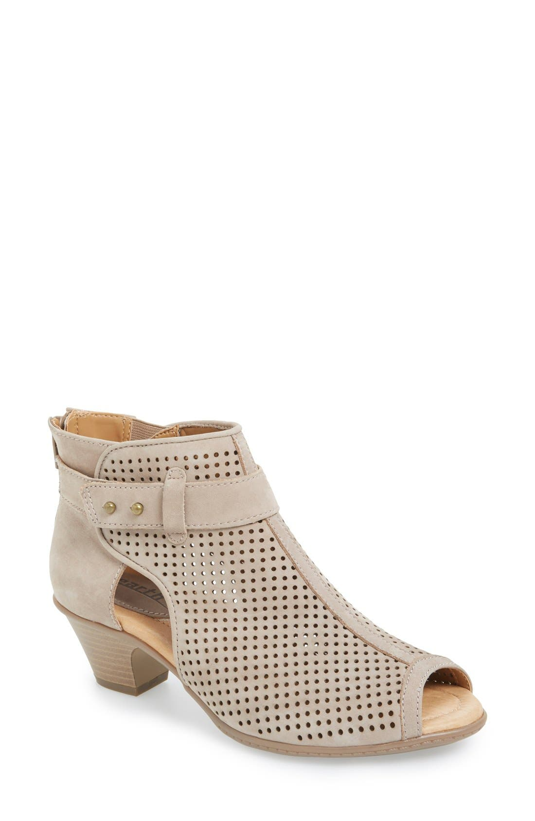 EARTH® 'Intrepid' Peep Toe Bootie