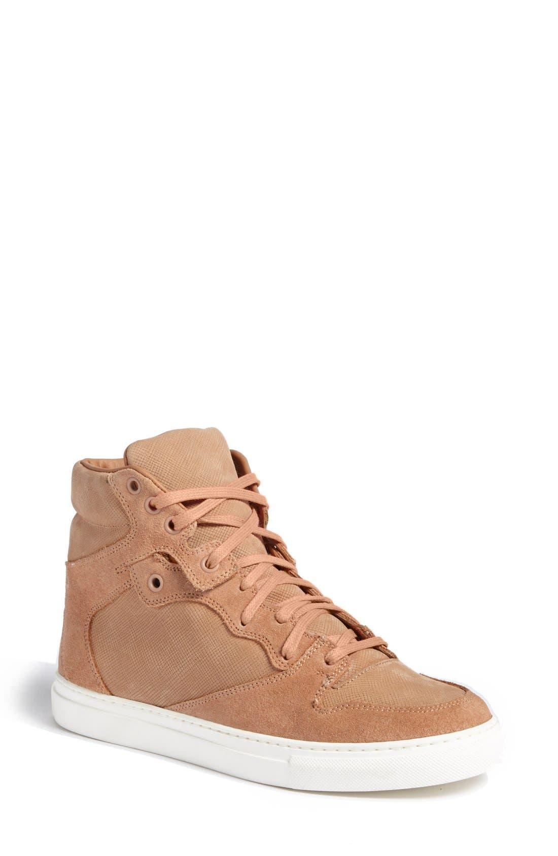 Alternate Image 1 Selected - Balenciaga 'Trainer' High Top Sneaker (Women)